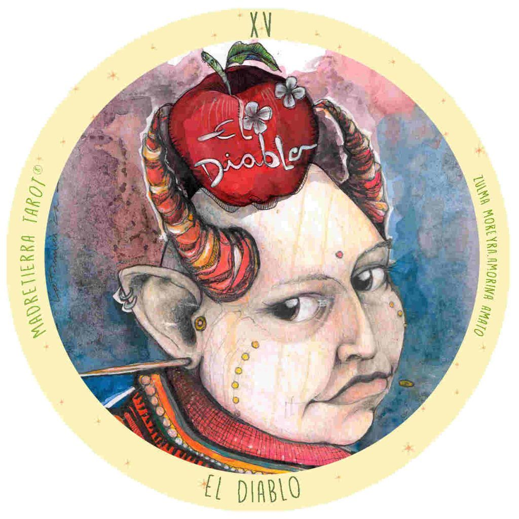 El diablo, Tarot Madretierra